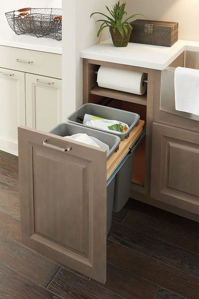 Store your rubbish bin out of sight