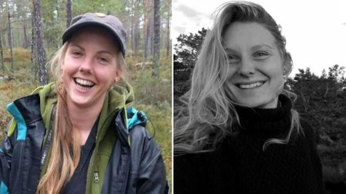 The bodies of two women -- Norwegian Maren Ueland, 28 (left) and Danish Louisa Jespersen, 24, (right) -- were discovered in the High Atlas mountain range on Dec. 17, 2018