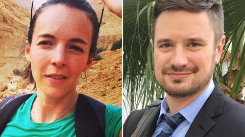 Zaida Catalan and Michael Sharp.
