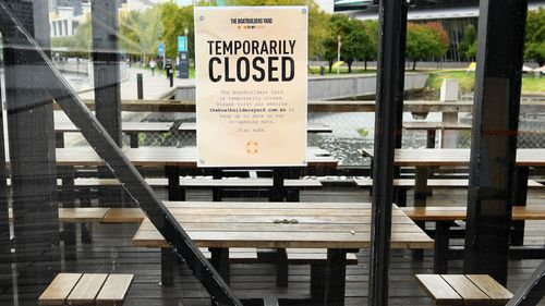 Many Melbourne restaurants have closed their businesses to customers.