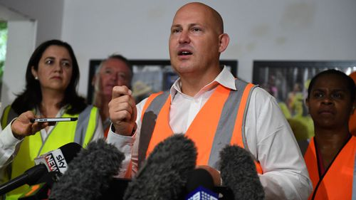 Labor is reportedly pressuring Queensland Treasurer Curtis Pitt to stand aside from his portfolio or quit (Image: AAP)