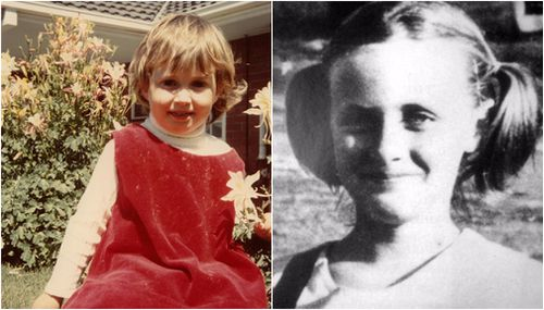 Kirste Gordon, 4, and Joanne Ratcliffe, 11. (Missing Persons)