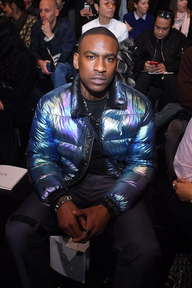 Skepta attends the Dior Homme Menswear Fall/Winter 2019-2020 show as part of Paris Fashion Week on January 19, 2019 in Paris, France.