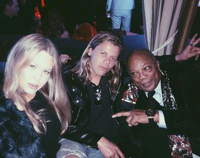 Conrad Sewell, Grace Sewell, Quincy Jones