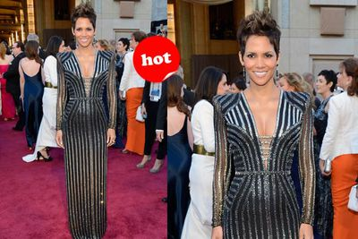 Oscars regular Halle is smokin' yet again!