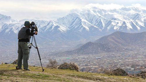 The snow-capped peaks of Afghanistan. (9NEWS)