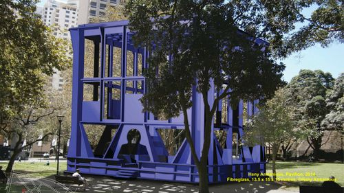 Milk crate inventor asks what the fuss is over Sydney's new $2.5m public artwork