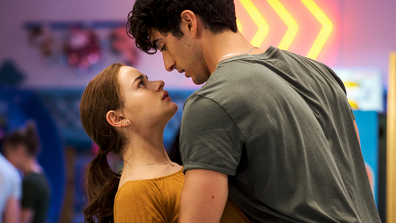 Joey King and Jacob Elordi as seen in Netflix's The Kissing Booth 2.