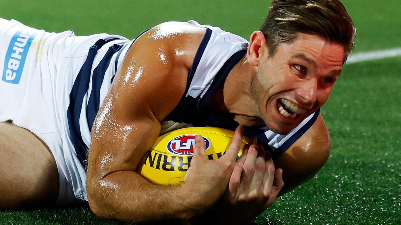 Cats forward Tom Hawkins placed into quarantine ahead of AFL grand final