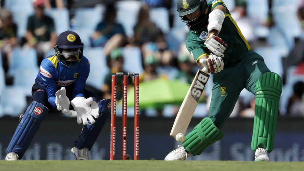 Hashim Amla and South Africa are now the top-ranked team in ODI cricket. (AAP)
