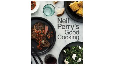 "<p><a href=""https://www.murdochbooks.com.au/browse/books/tv-celebrity-chefs/Neil-Perrys-Good-Cooking-Neil-Perry-9781743368916"" target=""_top"">Neil Perry's Good Cooking</a><br> By Neil Perry<br> Murdoch Books, $49.99</p>"
