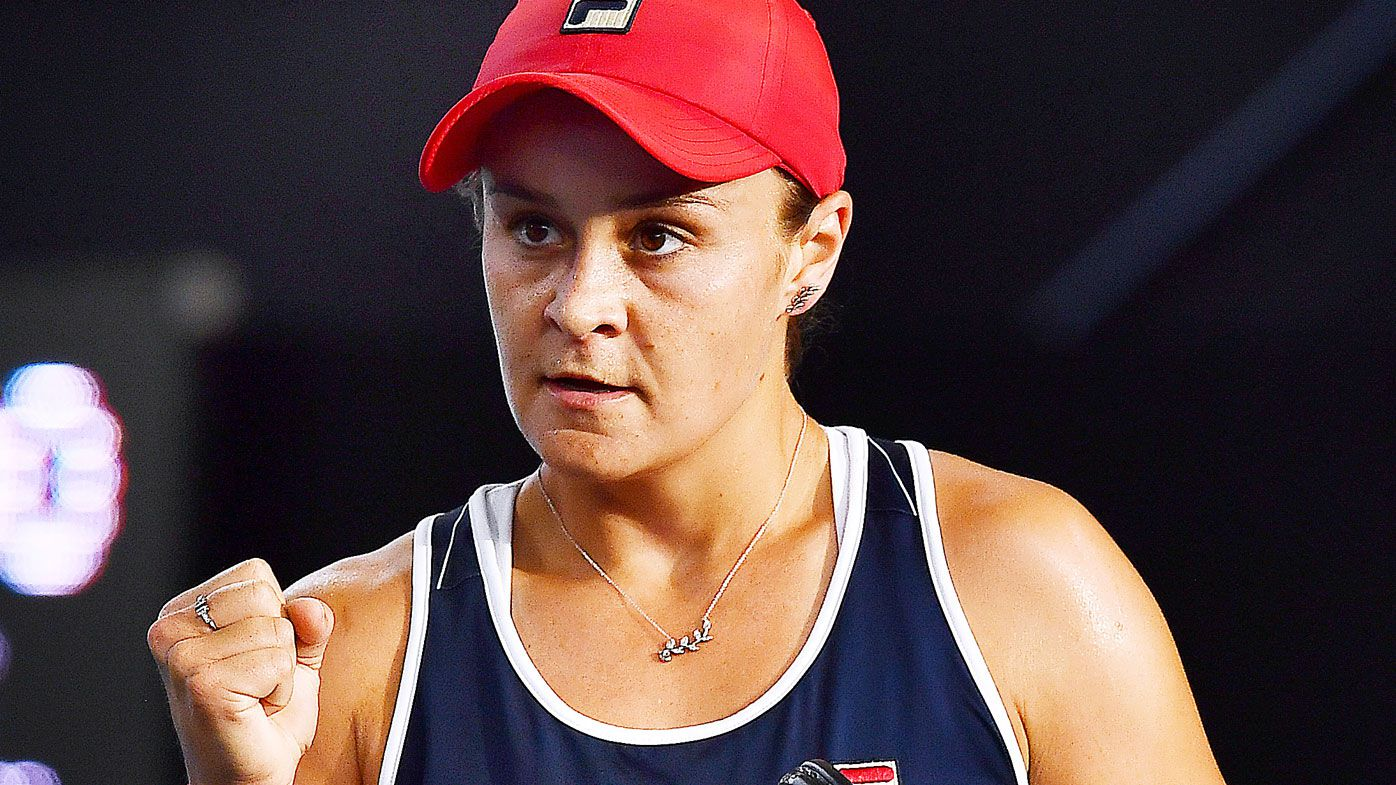 Ash Barty demolishes Elena Rybakina to reach Australian Open last 16