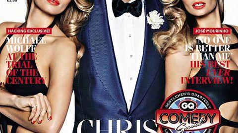 It takes two! Jessica Hart cloned for smokin' GQ bikini cover
