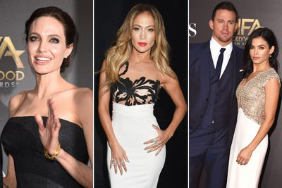 "From Angelina Jolie to JLo to Channing Tatum, Tinseltown's A-listers came out in full force for the 18th Annual Hollywood Film Awards at LA's Palladium on Friday night. Heck, even K-Stew and R-Pattz turned up… and avoided each other the whole night.<br/><br/>But it was Angelina who stole the show, making her first red-carpet appearance since marrying Brad Pitt in August and her recent appointment as an ""Honorary Dame"" in the UK. Ange even presented an award, giving us plenty of chances to gawp at her wedding band.<br/><br/>View all the pics here!<br/><br/>Author: Adam Bub. <b><a target=""_blank"" href=""http://twitter.com/TheAdamBub"">Follow on Twitter</a></b>. Images: Getty."