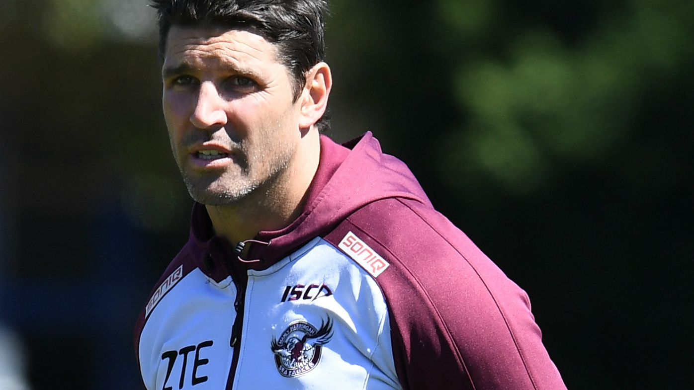Trent Barrett at practice