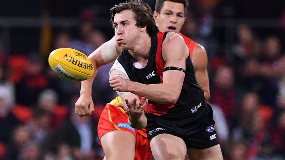 Essendon's Andrew McGrath has been named the AFL's Rising Star for 2017. (AAP)
