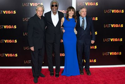 A-listers Michael Douglas, Morgan Freeman, Mary Steenburgen and Robert De Niro.