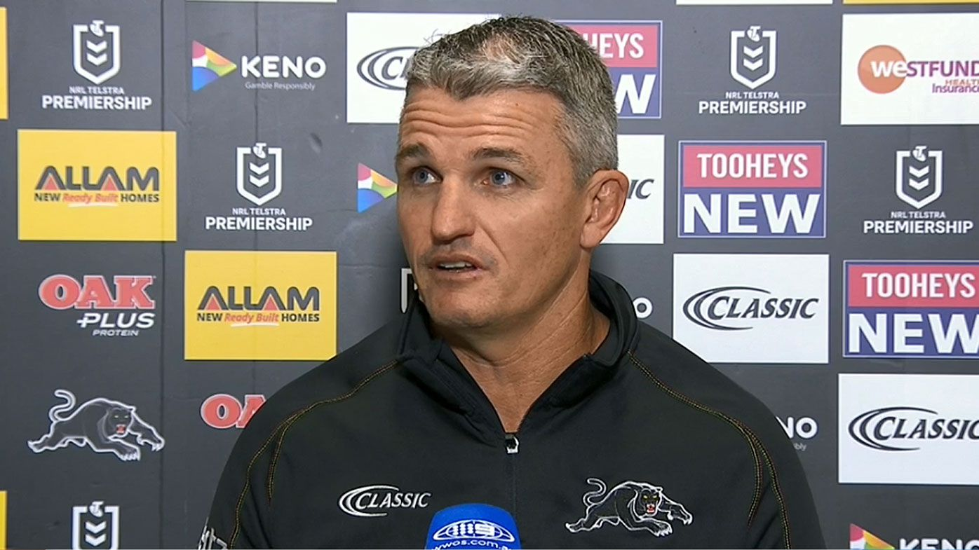Ivan Cleary wasn't too pleased with the refs