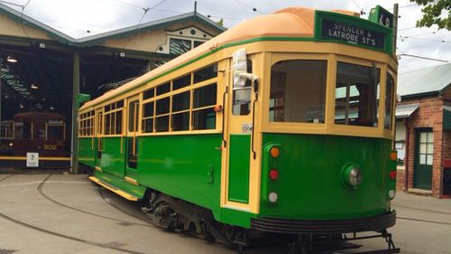An iconic W-class tram. (Victorian government)