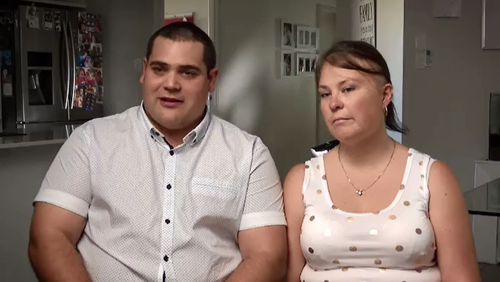 Kate and her husband Brendon are fighting to get Kate's treatment included in the PBS.