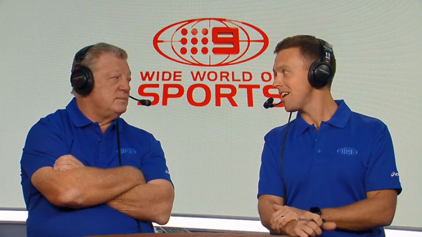 Phil Gould and James Bracey.