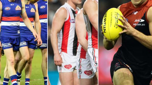 Port Adelaide, Western Bulldogs, Melbourne and St Kilda denied top up players after AFL reconsiders doping ban substitution ruling