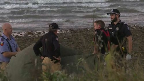 Rescuers and paramedics performed CPR on the woman for 20 minutes. (9NEWS)