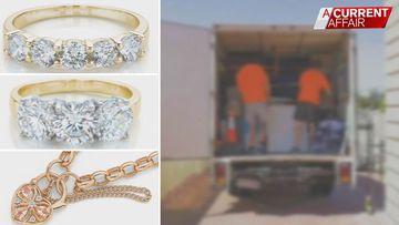 Jewellery worth 20K allegedly stolen by removalist