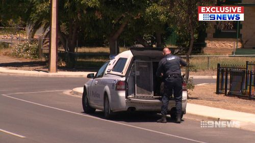 The town of Murray Bridge is gripped by an ice epidemic. (9NEWS)