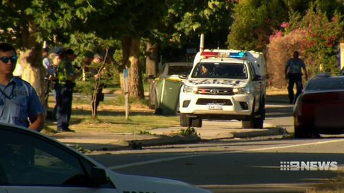 Police have established three separate crime scenes. (9NEWS)
