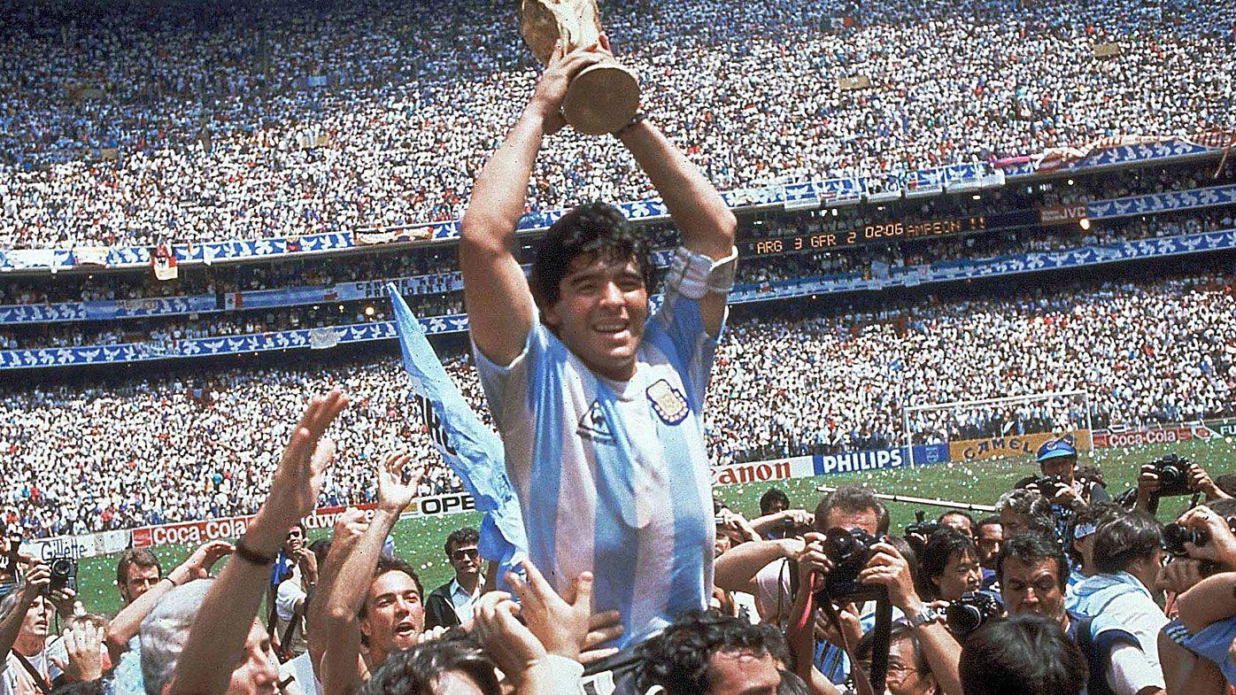 Diego Maradona hired at Belarusian club