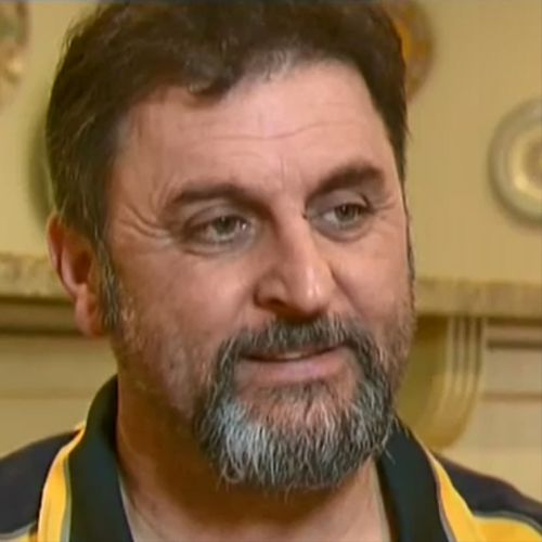 Frank Ascenzo was allegedly bashed while working in St Kilda yesterday. (9NEWS)