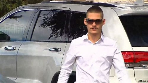 Manevski-Radin, 18, said he was horrified to watch the footage. (9NEWS)