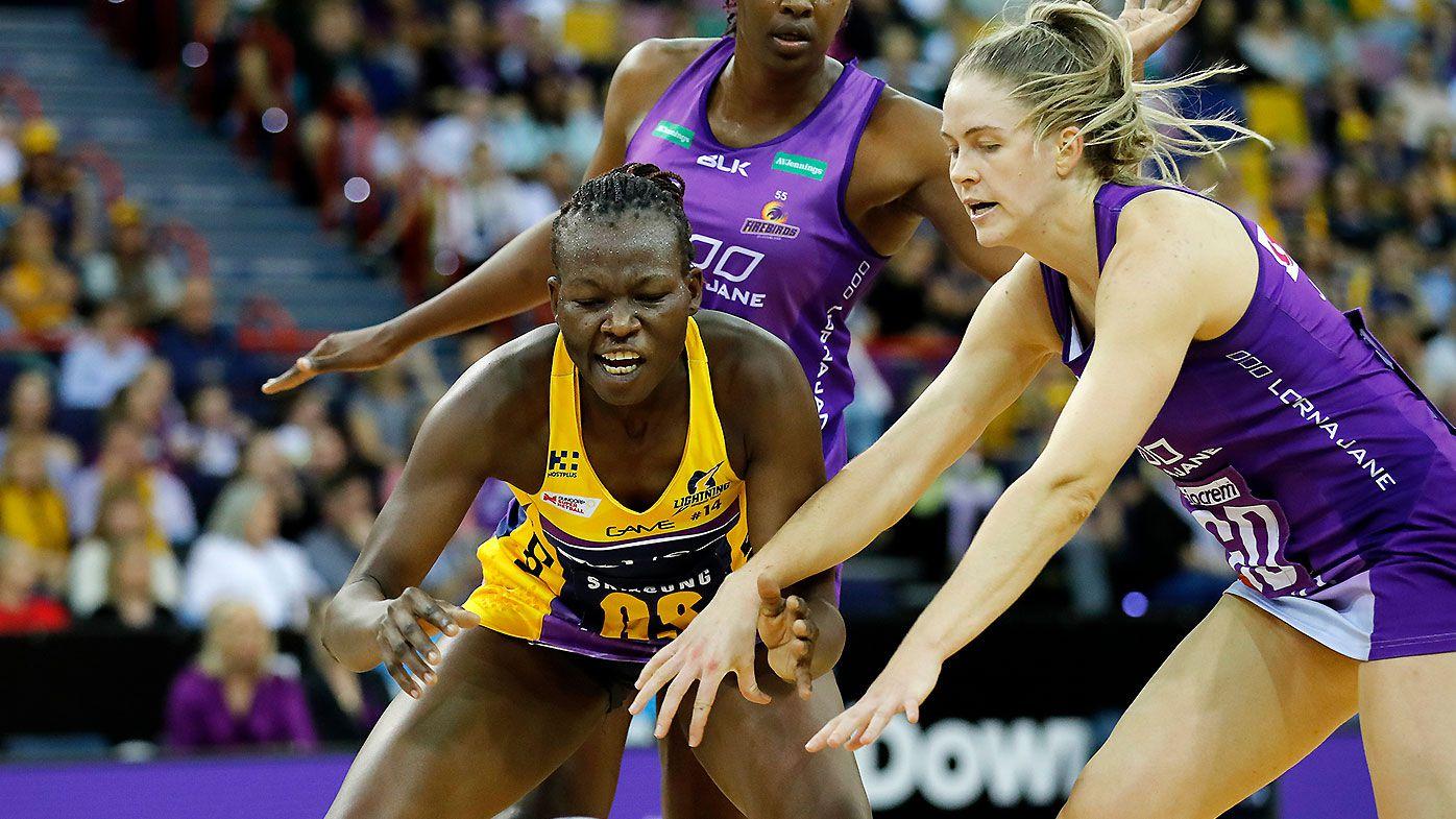 Peace Proscovia stars as Sunshine Coast Lightning take out Queensland derby