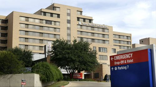 Texas Health Presbyterian Hospital Dallas, where US Ebola patient Thomas Duncan was being treated. (AAP)