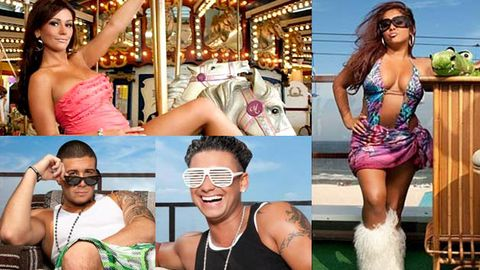 First season three pics reveal Jersey Shore cast are still D-bags