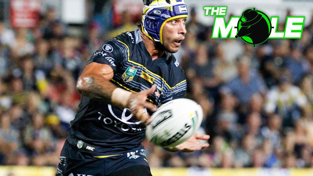 North Queensland Cowboys star Johnathan Thurston is recovering quickly from a shoulder injury. (AAP)