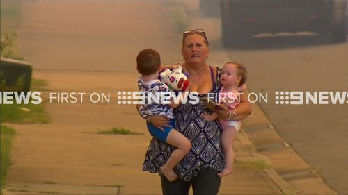 Affected NSW residents have been urged to monitor conditions. (9NEWS)