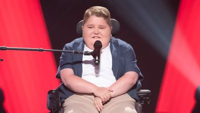 Dylan Marguccio as seen on The Voice 2020
