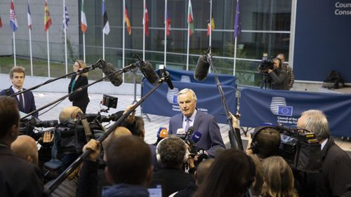 European Union chief Brexit negotiator Michel Barnier
