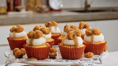 KFC Popcorn Chicken cupcakes