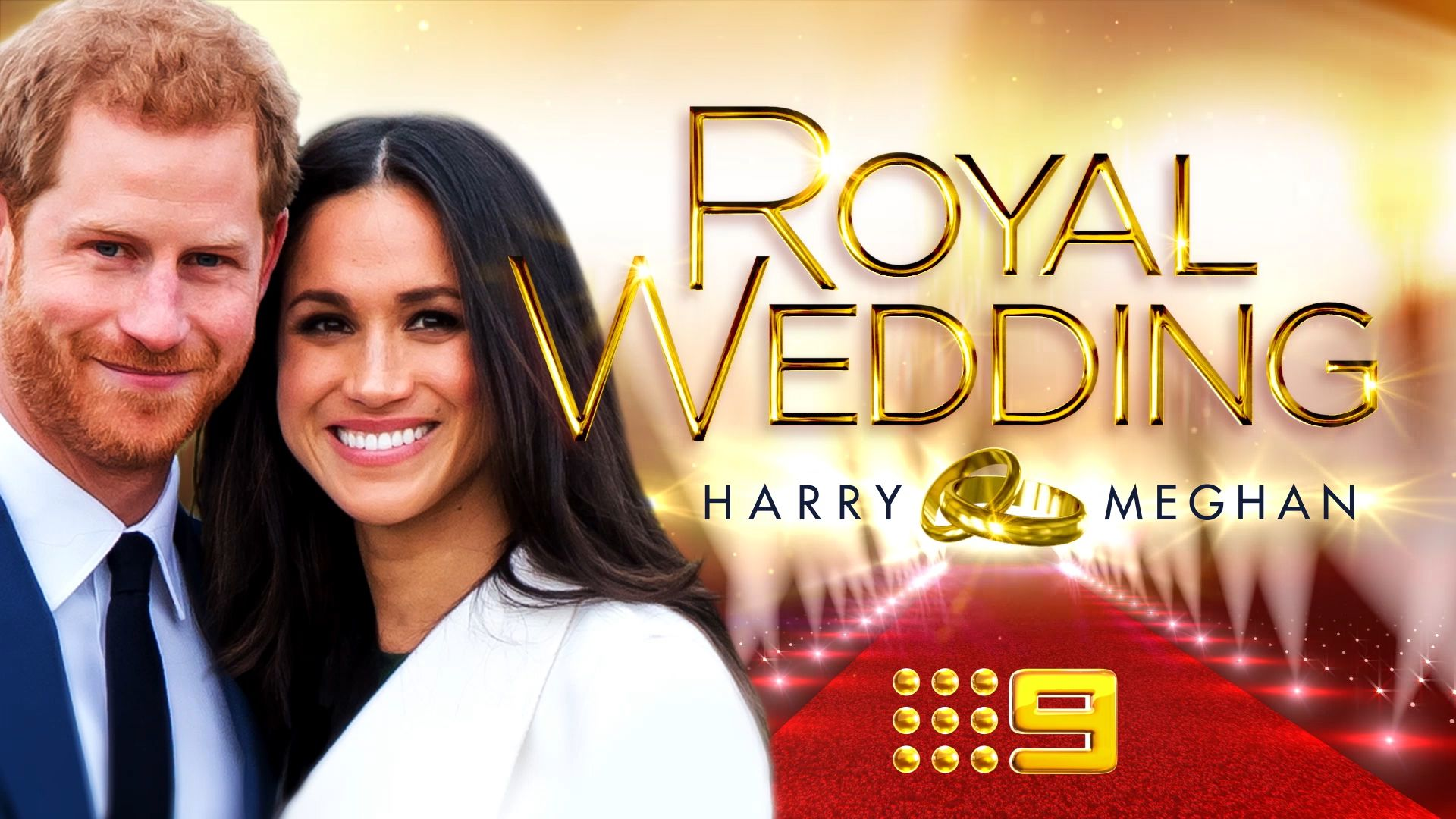 ​Royal wedding - Harry & Meghan on Nine Entertainment