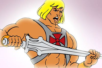 <B>Ran from:</B> 1983 to 1985<br/><br/><br/><B>Why it's awesome:</B> By the power of Greyskull! One of the first animated shows to be produced simply to sell toys, He-Man was also one of the first to feature hand-to-hand combat &#151;  and was hugely popular with young boys as a result. Even though the series is, in hindsight, weirdly homoerotic.