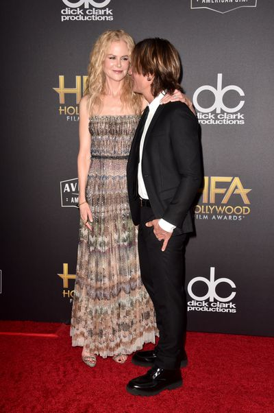 Nicole Kidman and Keith Urban at the 22nd Annual Hollywood Film Awards, November, 2018