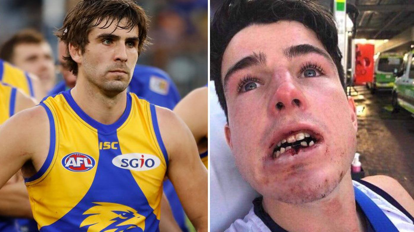 Social media reaction to West Coast's Andrew Gaff king hit on Fremantle Docker teenager Andrew Brayshaw