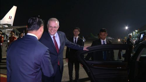 Prime Minister Morrison will be hoping to follow in Malcolm Turnbull's footsteps and his 'bromance' with the Indonesian President.