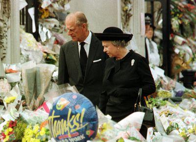 Princess Diana's funeral, September 1997