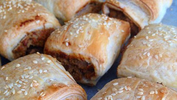 Renae Smith's vegetarian sausage rolls
