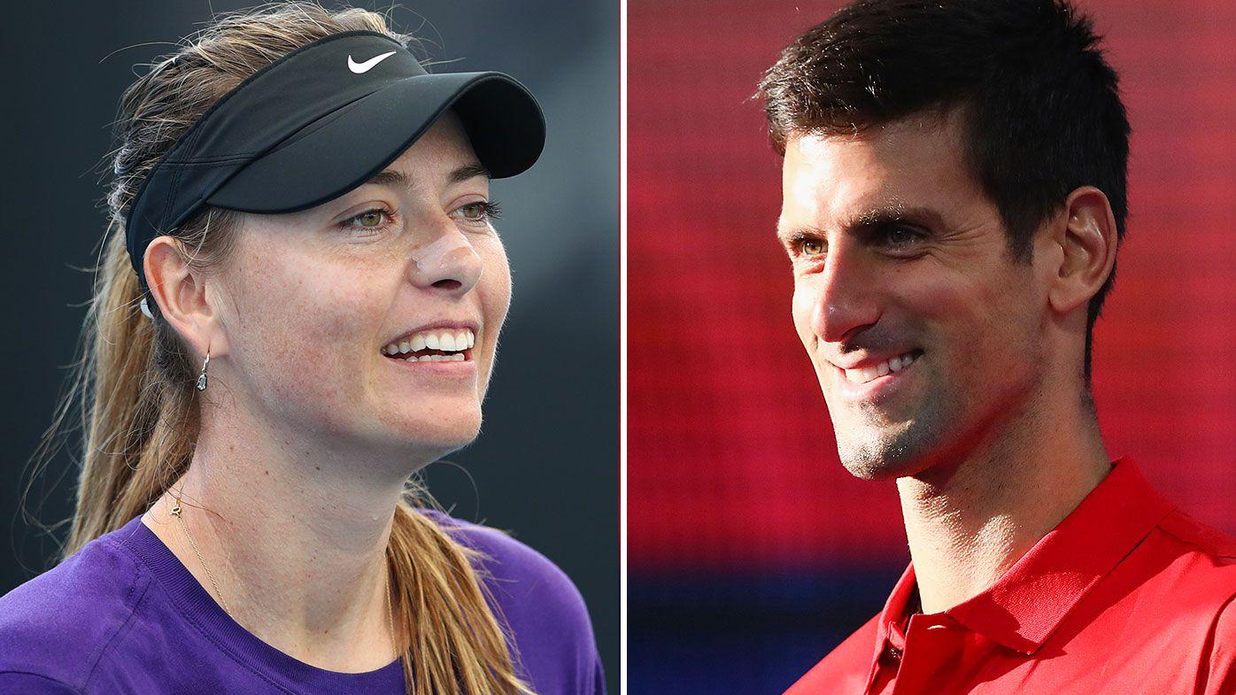 Maria Sharapova and Novak Djokovic donate to Australia's bushfire appeal