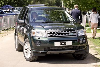A specially modified Land Rover will transport Prince Philip's casket for his funeral on Saturday.